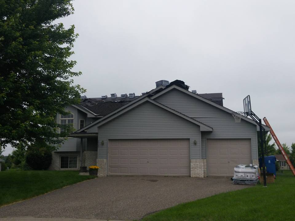 St. Michaels MN Home New Roofing