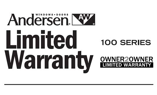 You are currently viewing Andersen 100 Series Limited Warranty