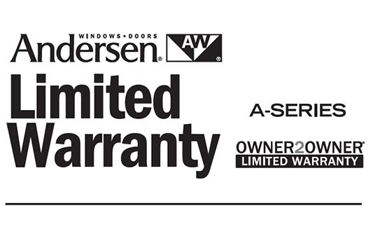 You are currently viewing Andersen A-Series Limited Warranty