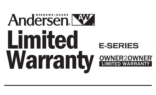 You are currently viewing Andersen E-Series Limited Warranty