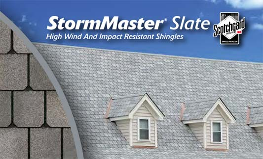 You are currently viewing Atlas Roofing StormMaster Slate Shingle
