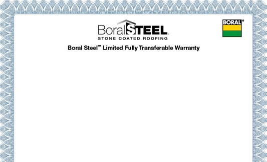 You are currently viewing Boral Steel Limited Warranty