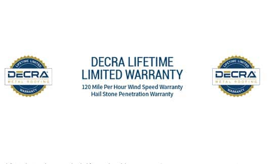 You are currently viewing DECRA Limited Warranty