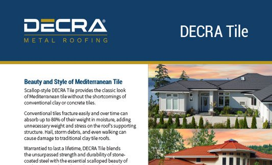 You are currently viewing DECRA Roofing Tile