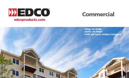 You are currently viewing EDCO Exteriors Commercial Products