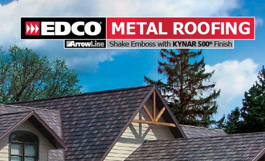 You are currently viewing EDCO Roofing ArrowLine Shake
