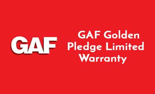 You are currently viewing GAF Golden Pledge Limited Warranty