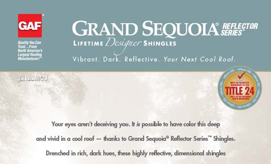 You are currently viewing GAF Roofing Grand Sequoia Reflector Series