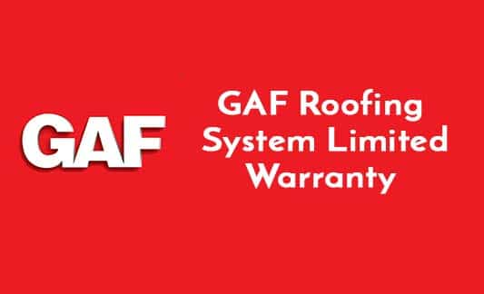 You are currently viewing GAF Roofing System Limited Warranty