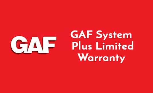 You are currently viewing GAF System Plus Limited Warranty