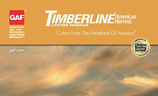 You are currently viewing GAF Roofing Timberline American Harvest