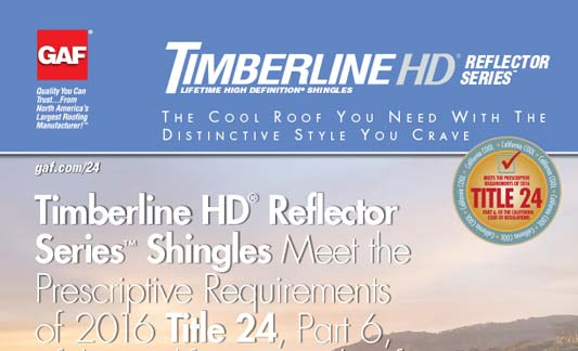 You are currently viewing GAF Roofing Timberline HD Reflector Series