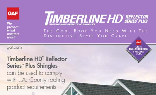 You are currently viewing GAF Roofing Timberline HD Reflector Series Plus