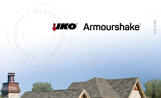 You are currently viewing IKO Roofing Armourshake