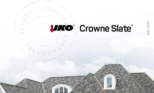 You are currently viewing IKO Roofing Crowne Slate