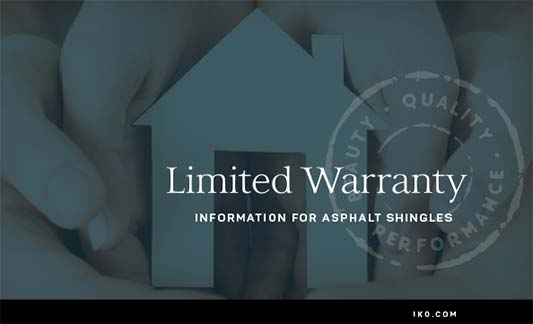 You are currently viewing IKO Limited Warranty