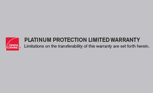 You are currently viewing Owens Corning Platinum Protection Limited Warranty
