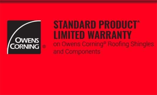 You are currently viewing Owens Corning Standard Product Limited Warranty