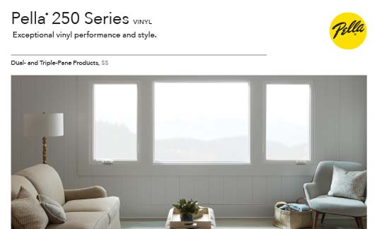 You are currently viewing Pella Windows 250 Series
