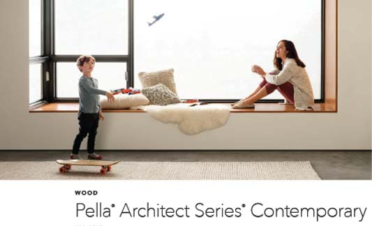 You are currently viewing Pella Windows Contemporary Wood