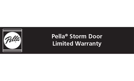 You are currently viewing Pella Storm Door Limited Warranty