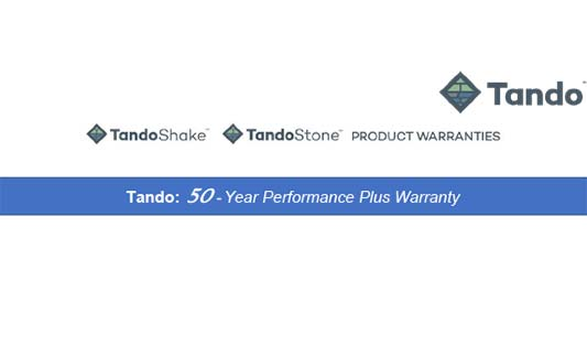 You are currently viewing TandoStone and TandoShake Limited Warranty